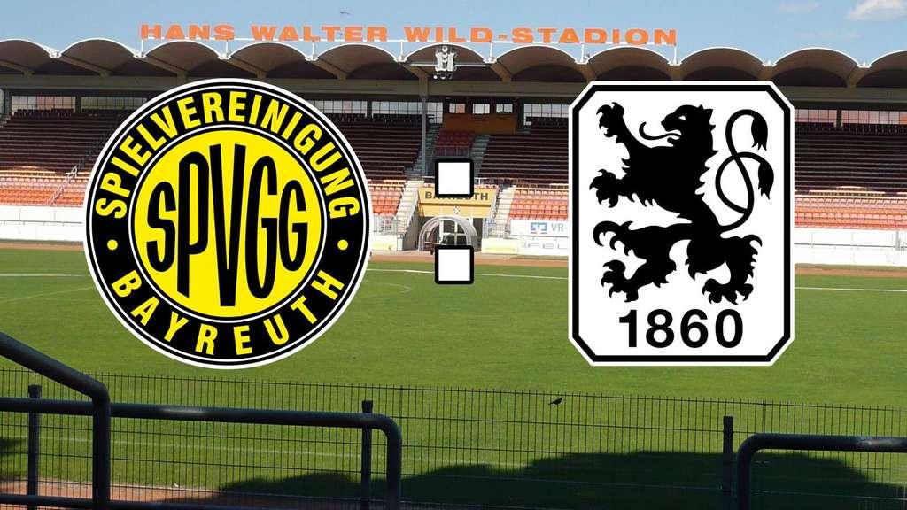 Spvgg Bayreuth Gegen Tsv 1860 München Toto Pokal Im Live