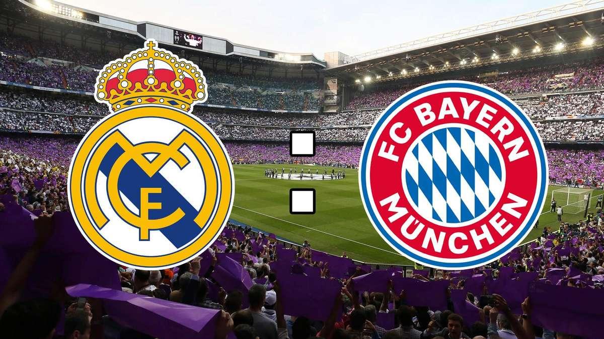 Real Madrid Bayern München Live