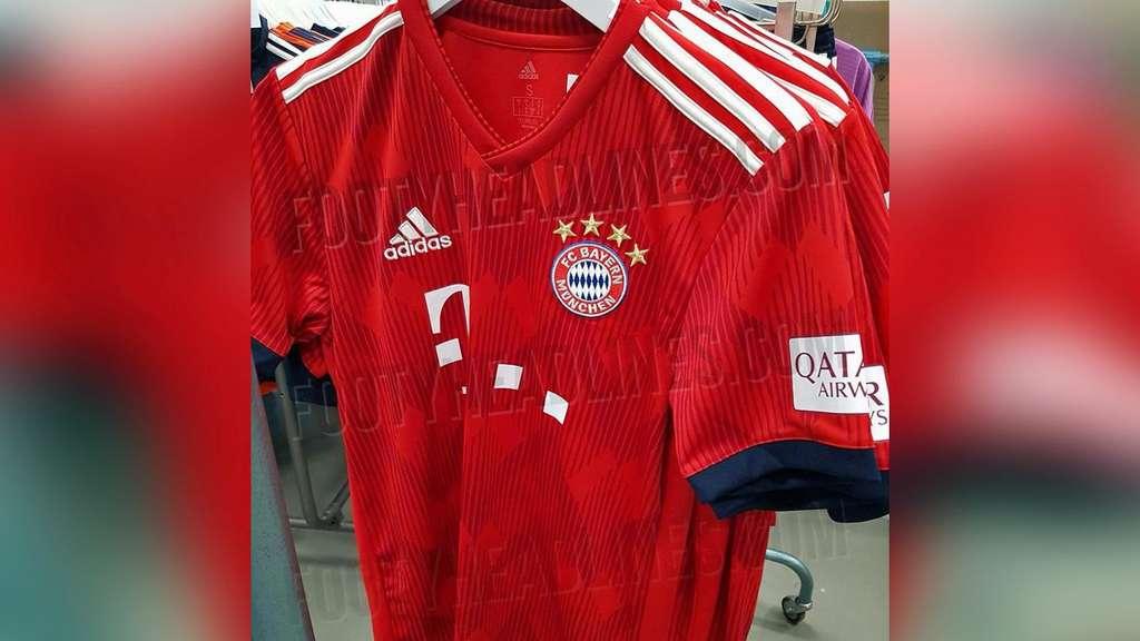 buy popular e6031 3b9cc Neues Trikot des FC Bayern München überrascht mit zwei ...