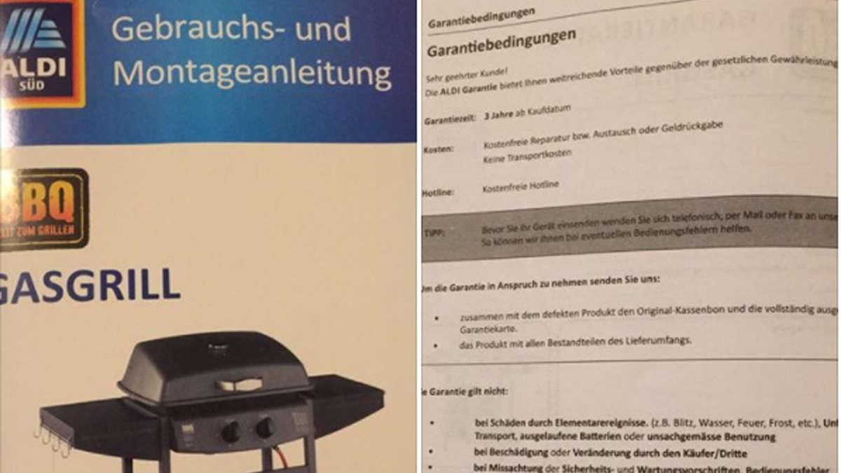 Aldi Gasgrill Rückruf : Vorsicht explosionsgefahr! aldi startet rückruf für grill salzsteine