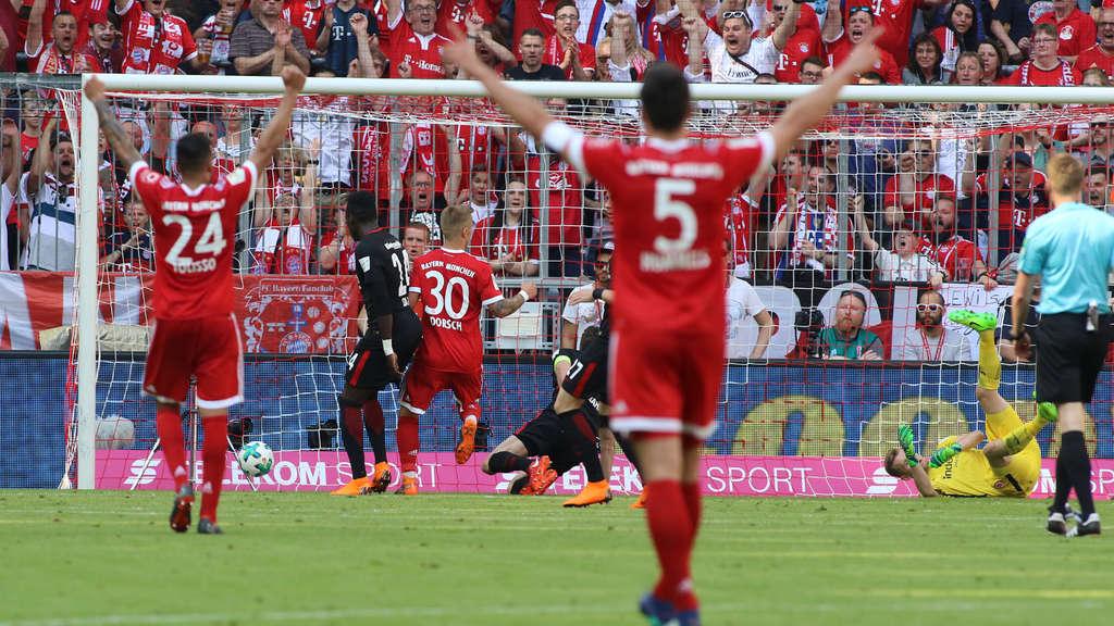 FC Bayern München gegen Eintracht Frankfurt: DFB-Pokal ...