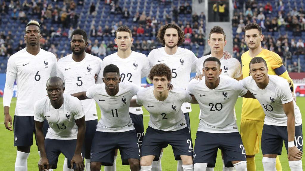 Wm 2018 Frankreich In Gruppe C Alle Infos Fussball Wm