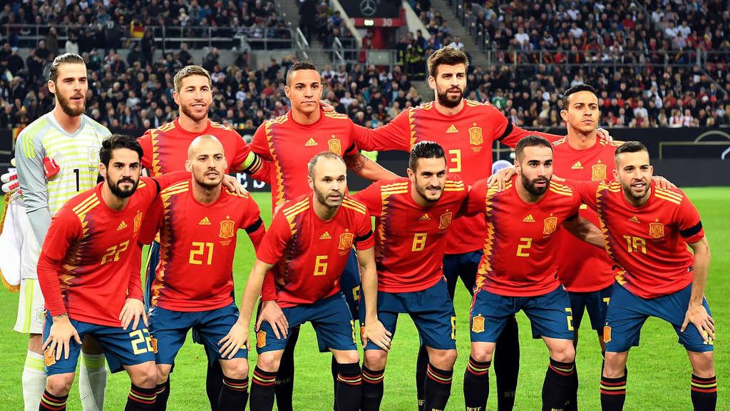 Nationalmannschaft Spanien