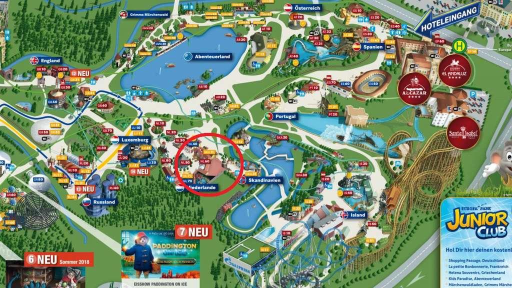 Europapark Themenbereiche Karte.Brand Im Europa Park Rust So Erlebte Stefan Mross Das Feuer