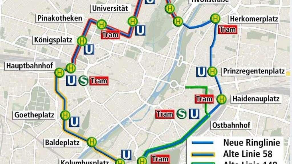 Mvg Erweitert Busangebot Der City Ring Wird Eröffnet München