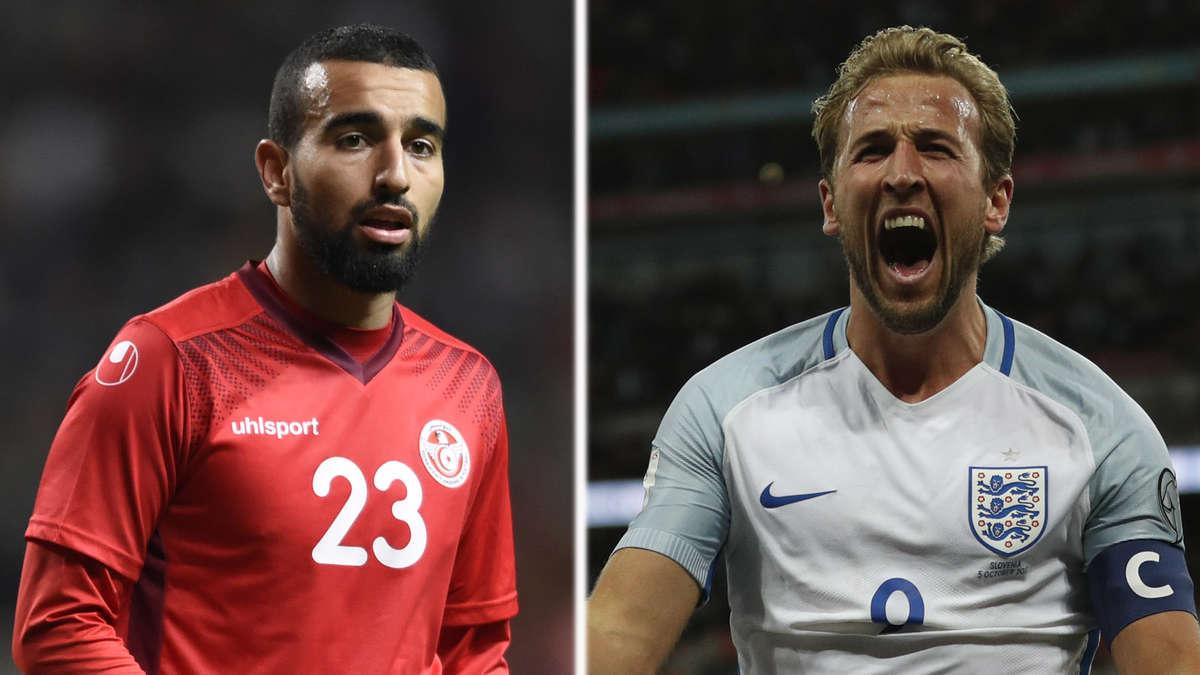 Tunesien England Live