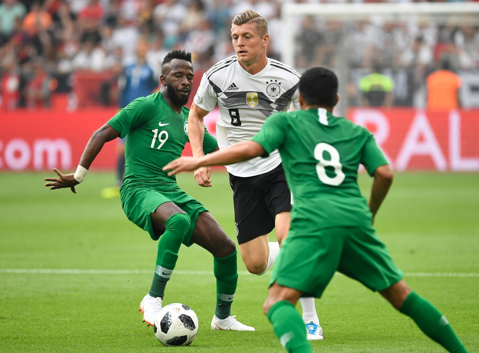 Deutschland Saudi Arabien FuГџball