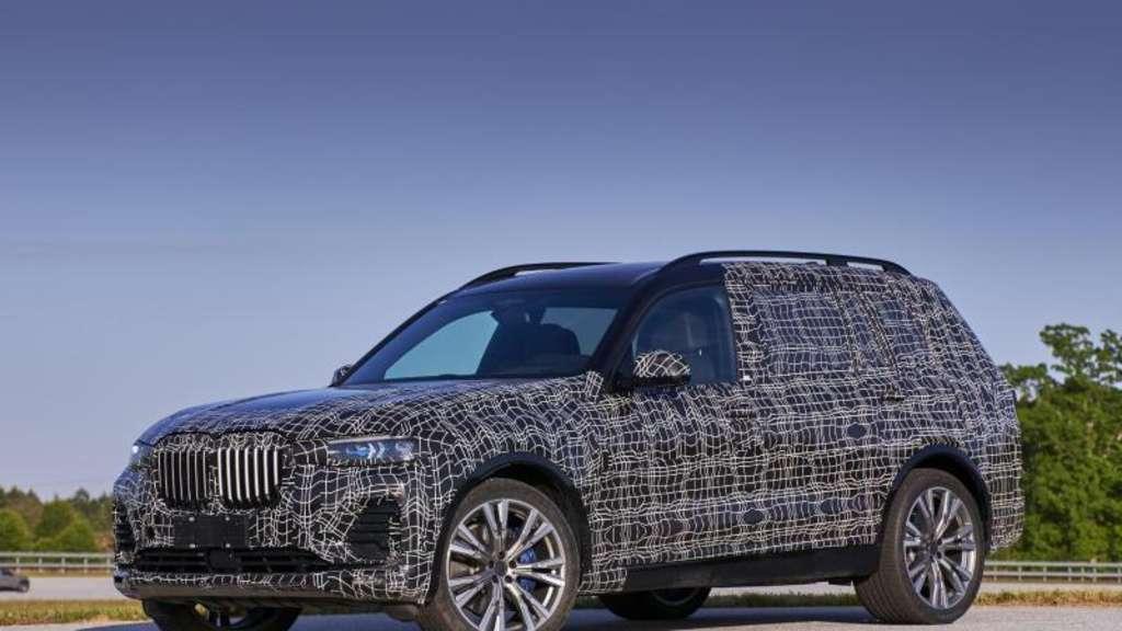 X7 Soll Ab 2019 Die Bmw Suv Palette Ergänzen Auto