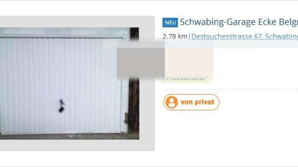 Extrem Garagen-Irrsinn: So viel kostet ein Stellplatz in Schwabing CY93