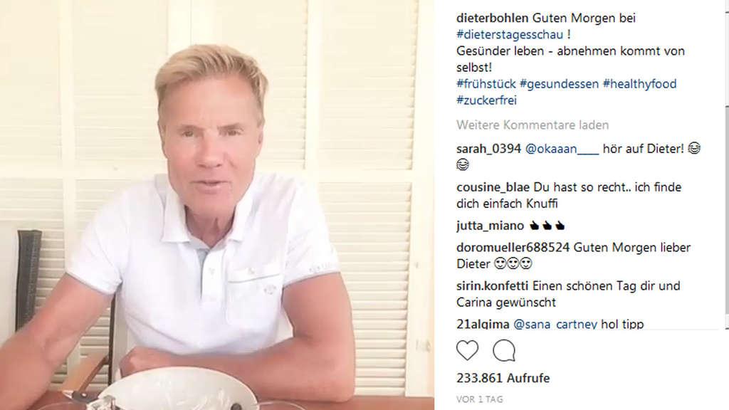 Außergewöhnlich Mit dieser Diät hat Dieter Bohlen 10 Kilo verloren | TV #LE_76