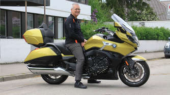 Gebremster Highway Star: BMW K 1600 Grand America