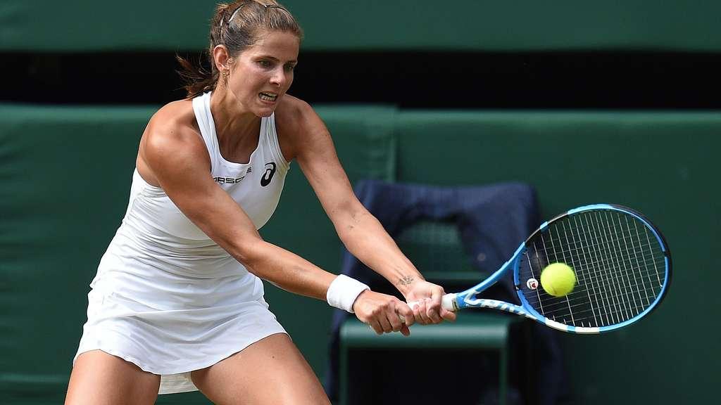 Wimbledon 2018 Im Ticker Julia Gorges Verliert Gegen Serena