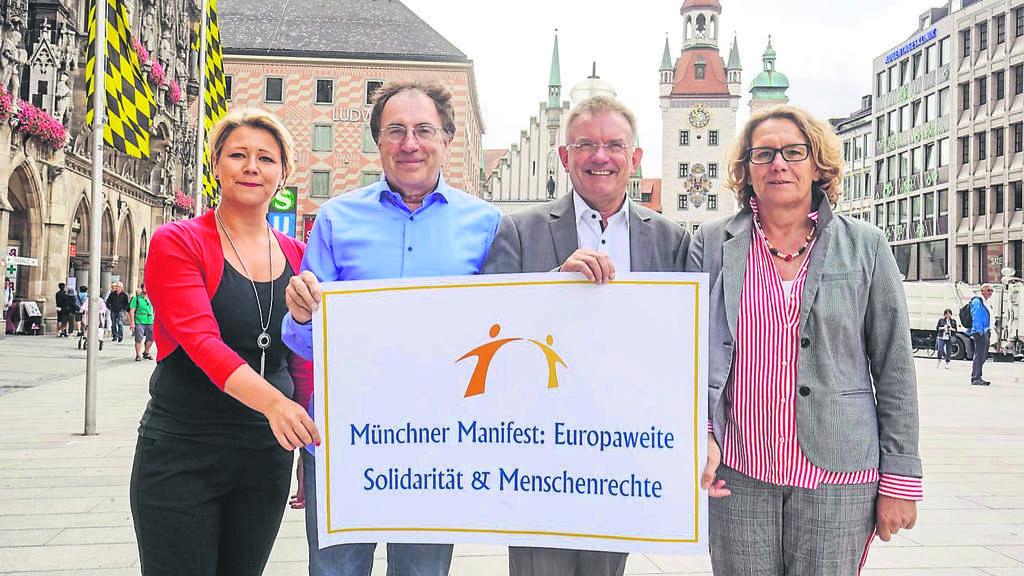 M nchner manifest in der fl chtlingspolitik stadt for Stellenanzeigen tz munchen