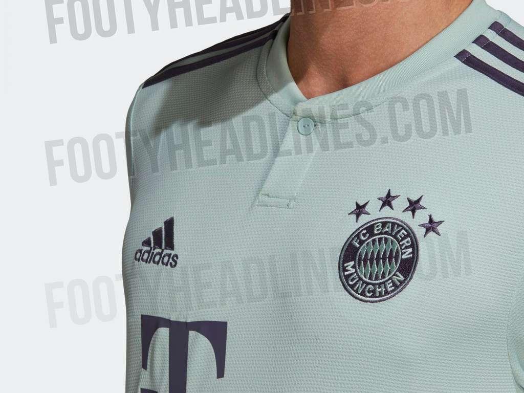 Offizielle Bilder: Langärmliges Adidas Bayern München 19 20