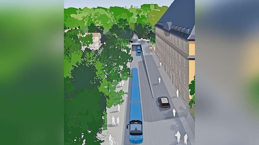 Neue Idee Für Den Englischen Garten Ein Tunnel Für Die Tram