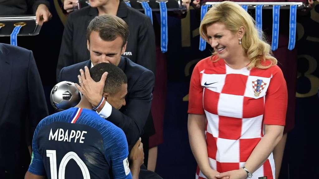 Kroatische Präsidentin Nackt