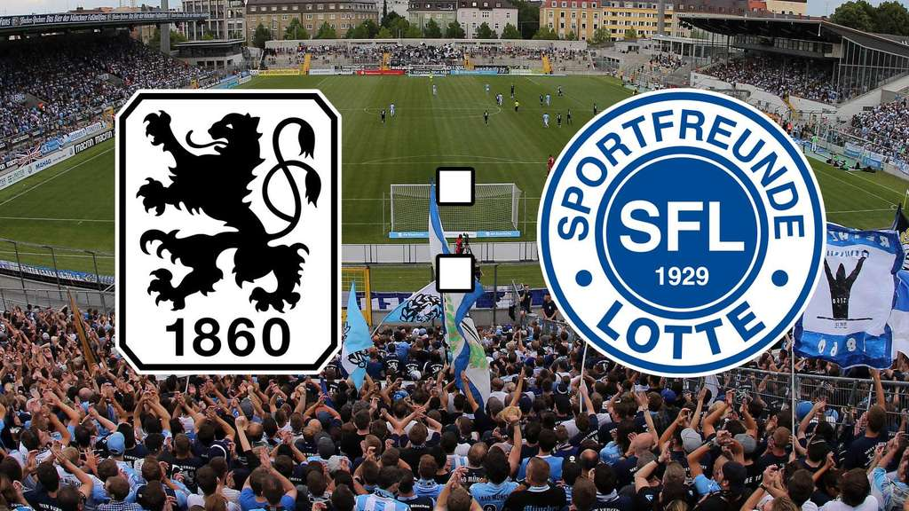 Tsv 1860 München Gegen Sportfreunde Lotte 3 Liga Im Live Ticker