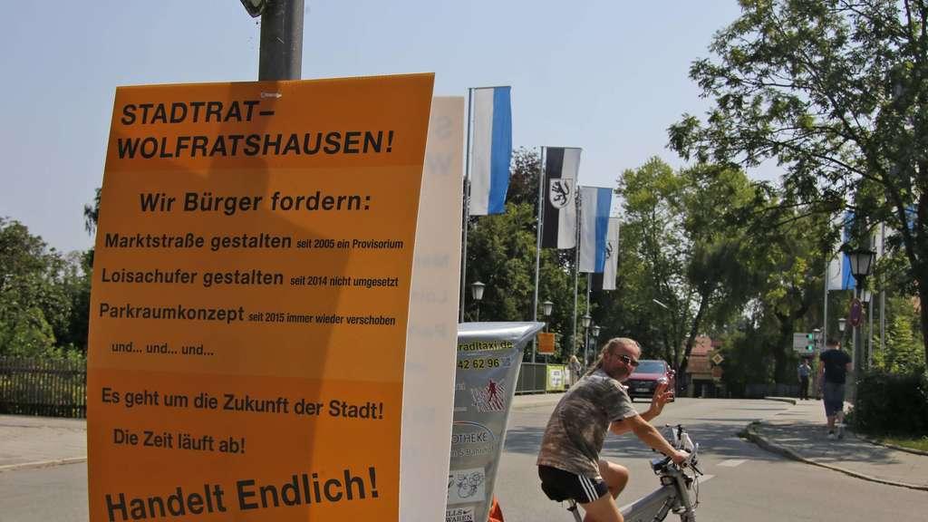 Wolfratshausen: Wie die Plakat-Aktion bei Bürgern und Politikern ...