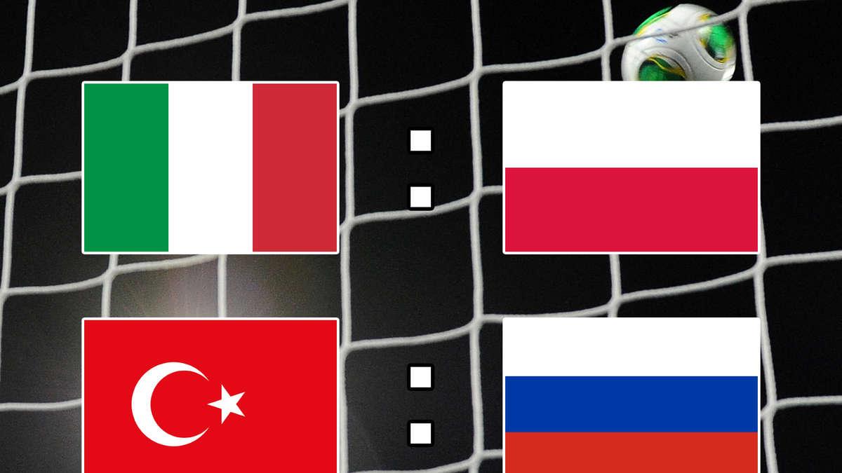 Nations League Im Ticker Italien Erkämpft Sich Remis Gegen Polen