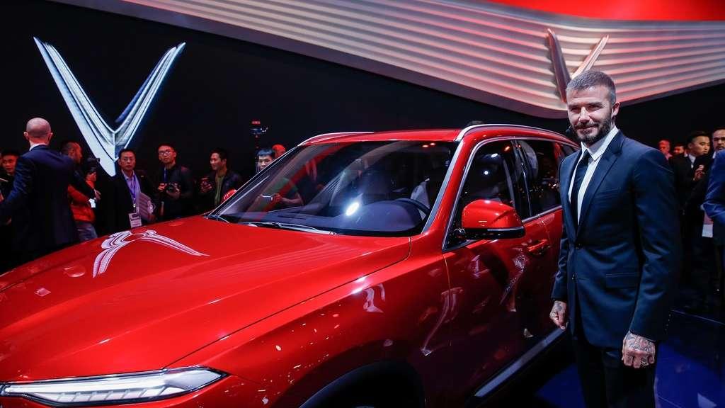 Vinfast David Beckham Präsentiert Erste Autos Aus Vietnam Auto