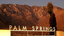 In Palm Springs trafen sich die Hollywood-Stars