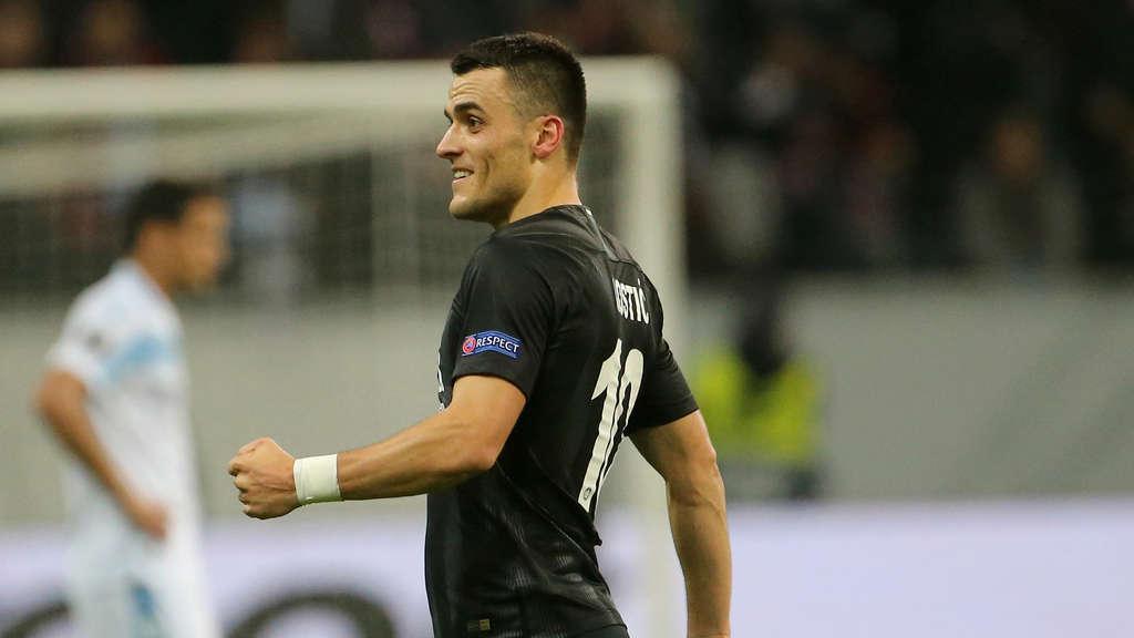 Eintracht Frankfurt Fortuna Düsseldorf So Endete Das Bundesliga