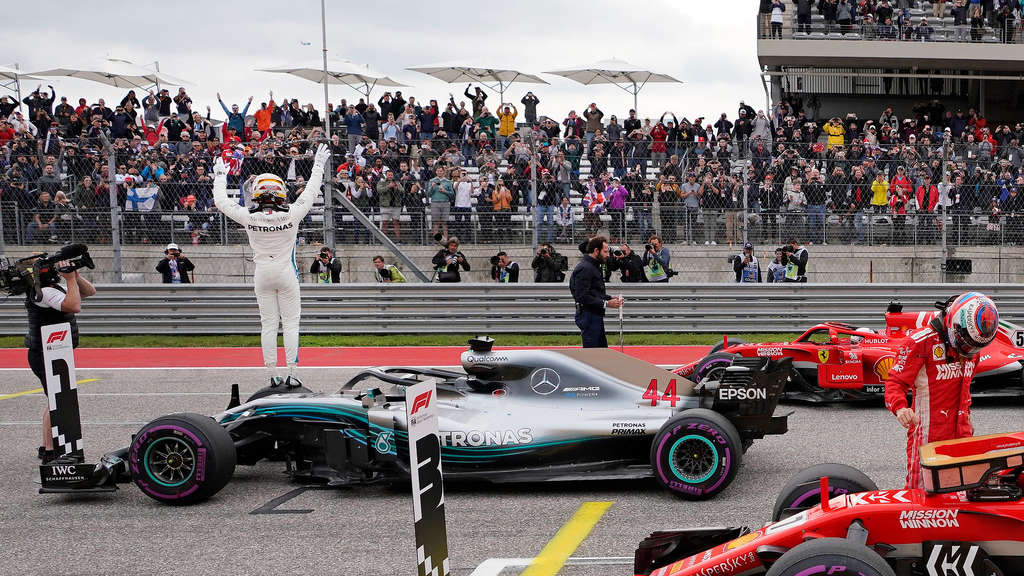 F1: Grand Prix der USA - Training