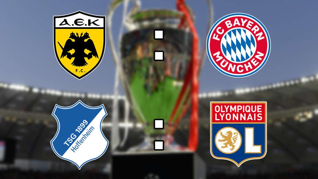Champions League Konferenz Im Live Ticker Aek Athen Fc
