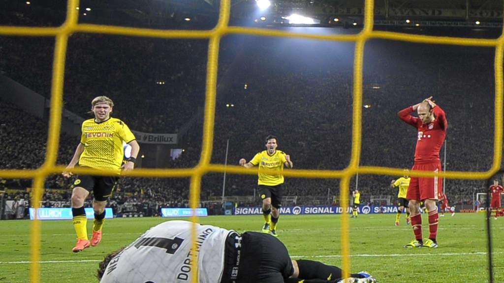 Fc Bayern Gegen Borussia Dortmund Die Packendsten Szenen Des Duells