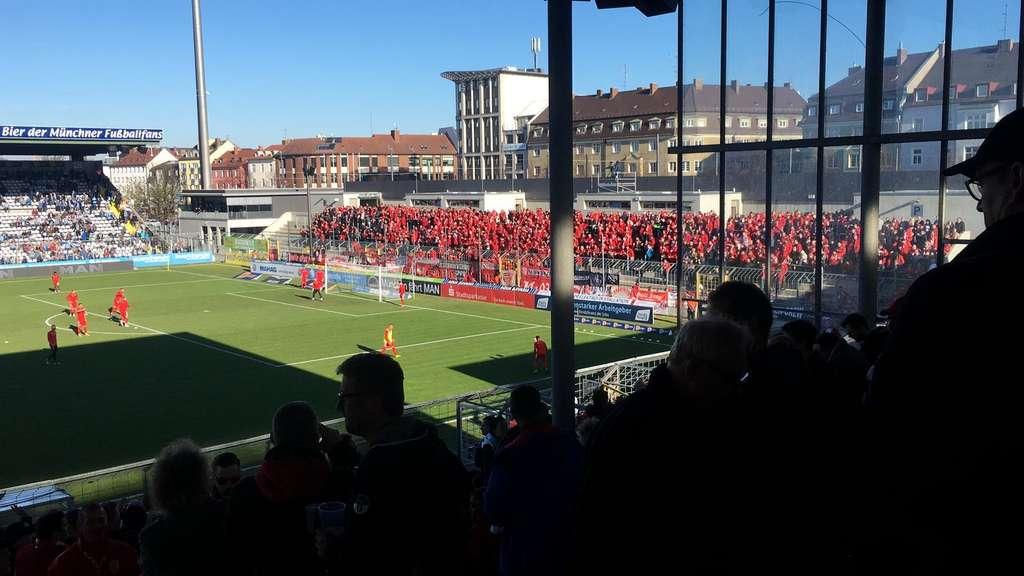 Hallescher FC, TSV 1860 München, Fans