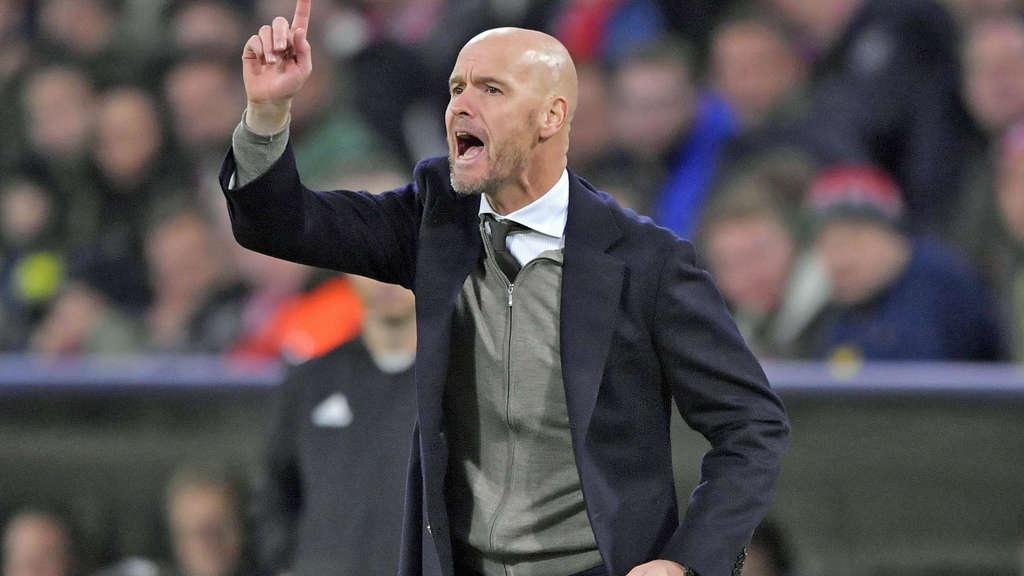 Erik Ten Hag Trainer Des Ajax Amsterdam War Fruher Auch Mal Beim