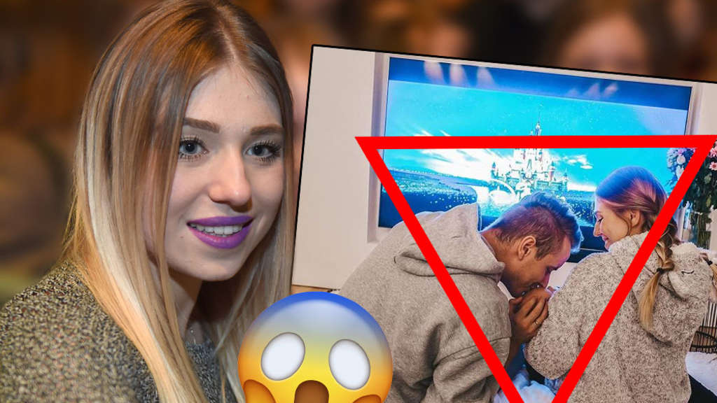 Youtube-Star Bibi in Sorge um ihr Baby.