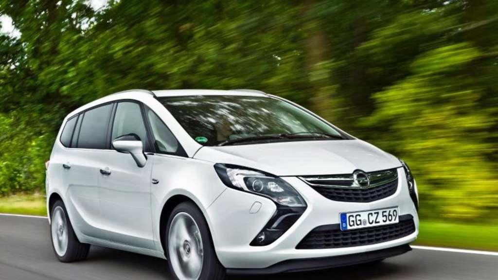 Auf Den Opel Zafira C Ist Lange Verlass Auto