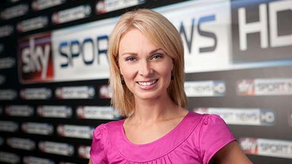 Tv Moderatorin Von Sky Heiss Im Urlaub Kollegin Kann Sich
