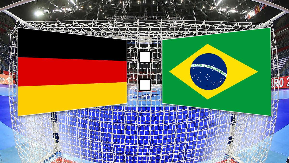 deutschland brasilien handball wm