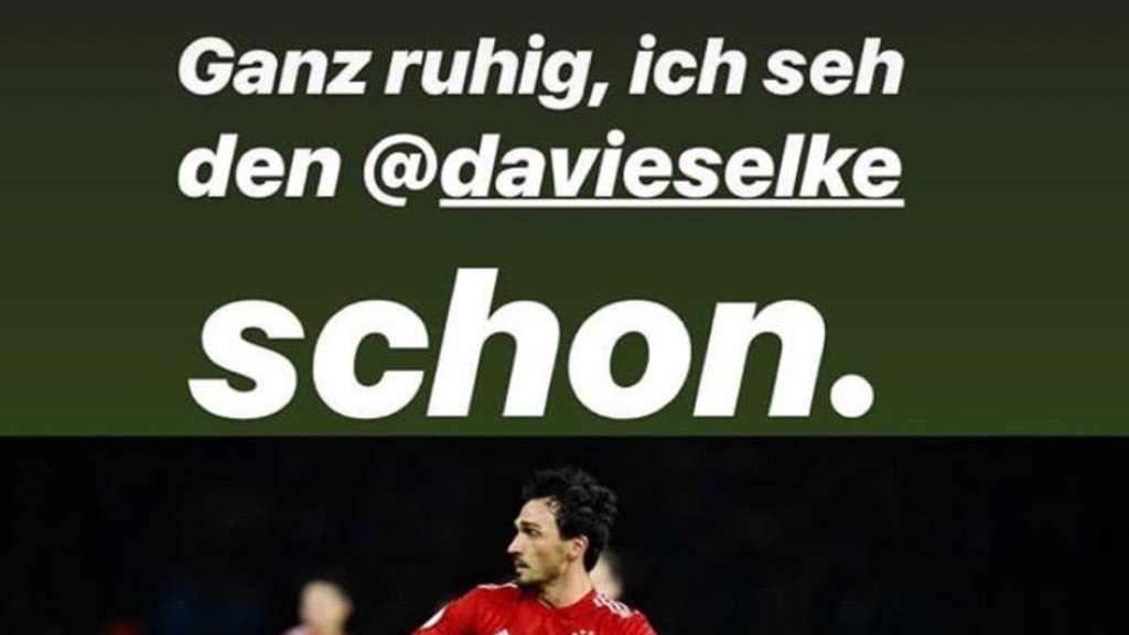 Fc Bayern Hummels Macht Sich Uber Seinen Patzer Lustig