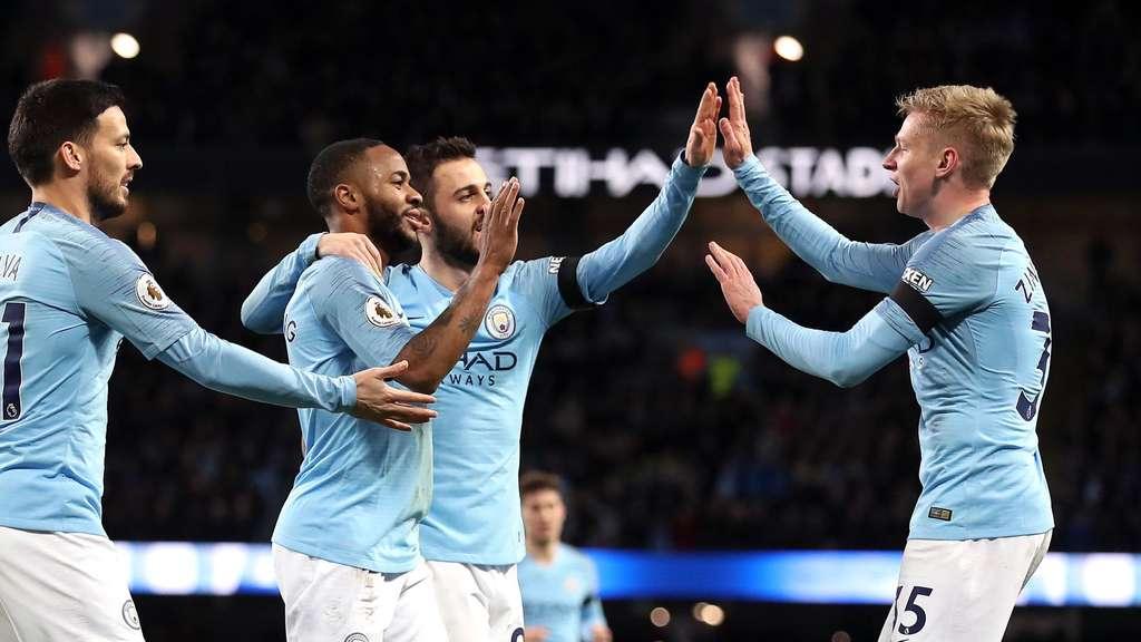 Man City Deklassiert Chelsea Und übernimmt Platz Eins