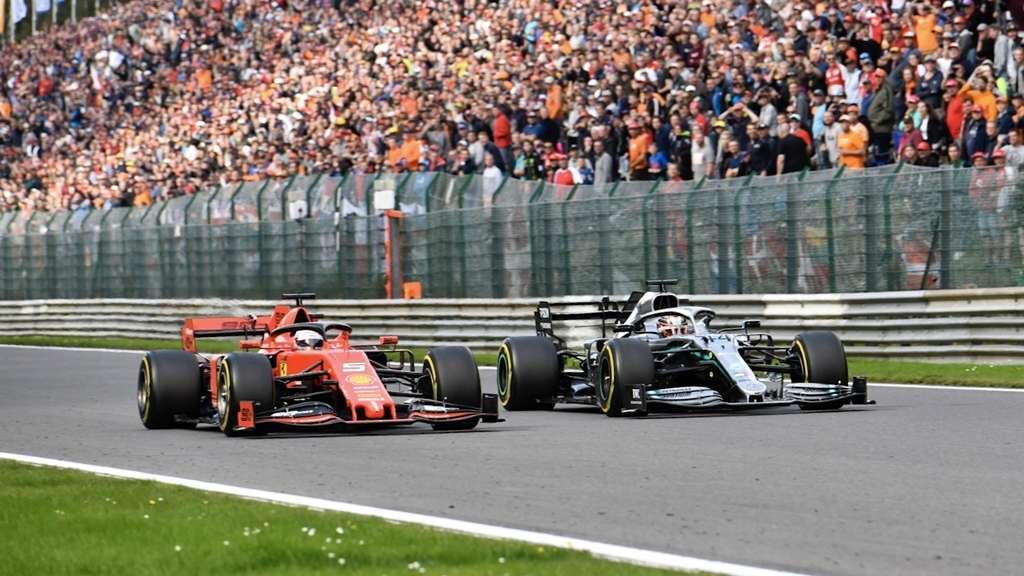 Formel 1 Mexiko 2019