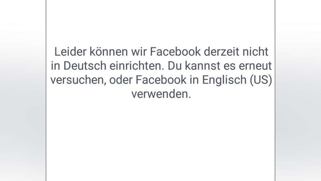 facebook neu anmelden deutsch