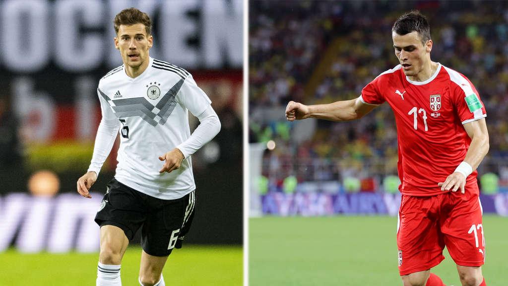 Deutschland Gegen Serbien Landerspiel Heute Live Im Tv Und