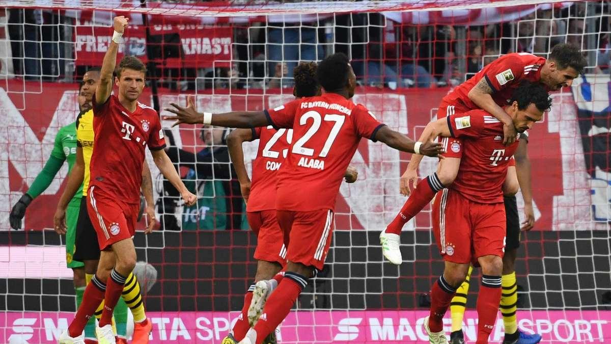 Borussia Dortmund Gegen Fc Bayern München