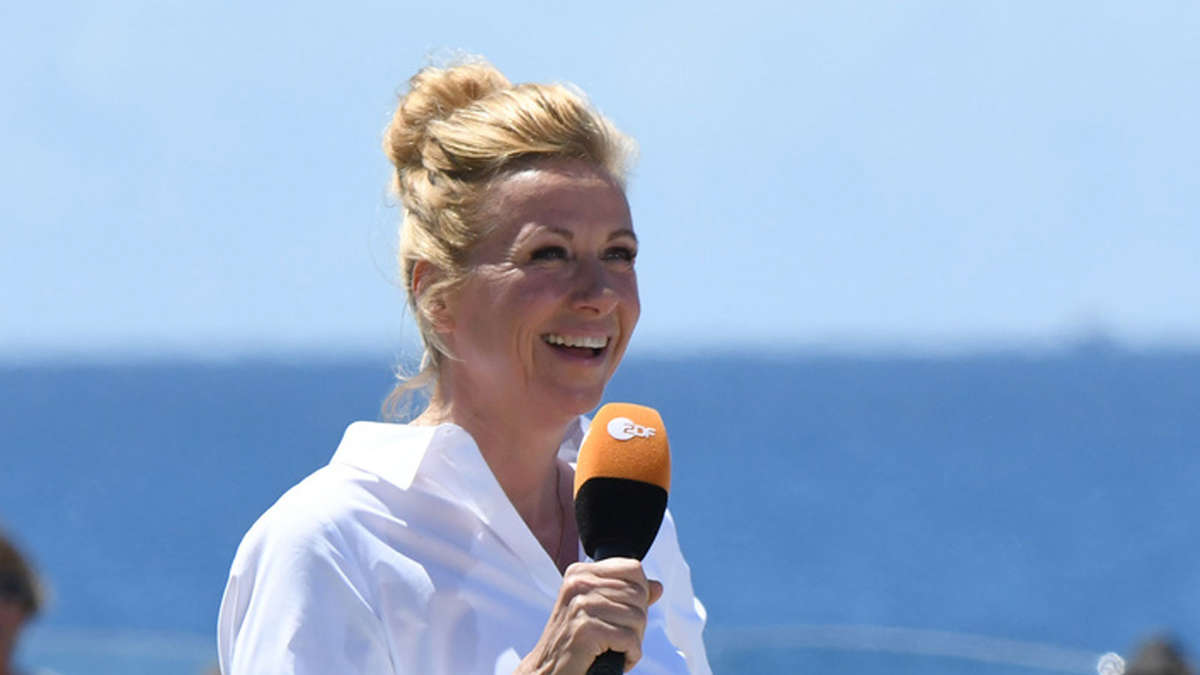 "Andrea Kiewel Bilder zdf tvs"" cool and cool andrea kiewel? ""kiwi is sympathetic"