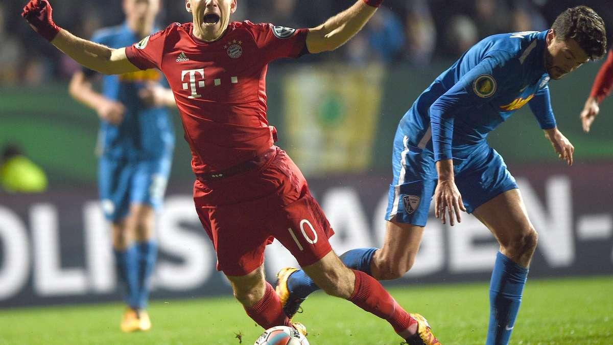 Robben Schwalbe Bochum