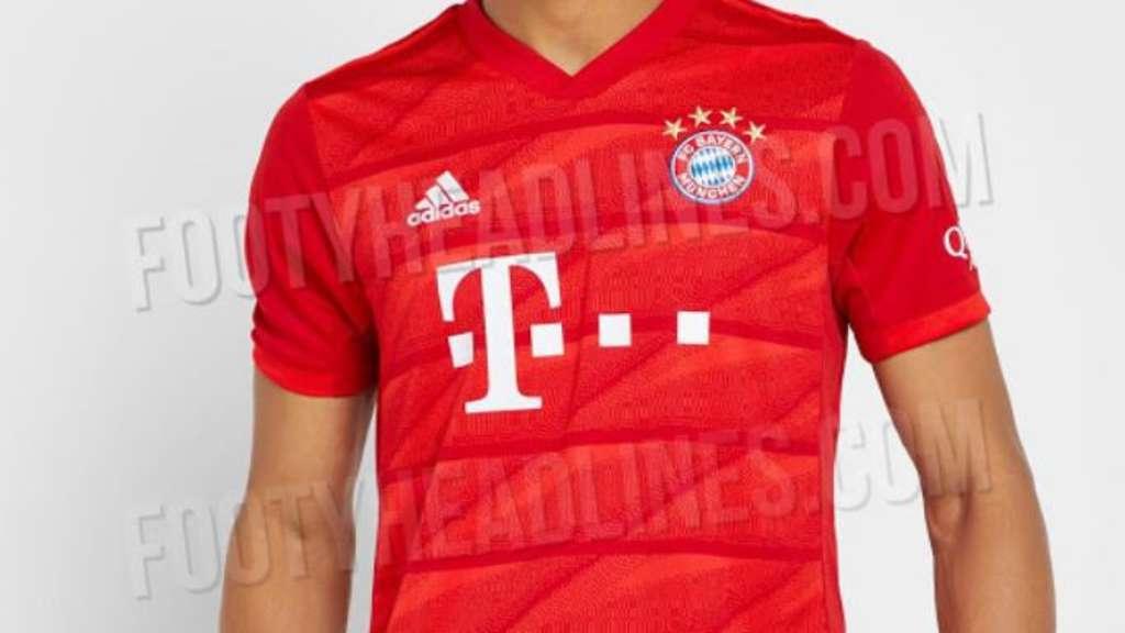 FC Bayern: Neues Trikot mit