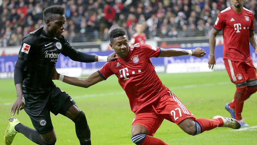 Fc Bayern Munchen Eintracht Frankfurt Bundesliga Heute