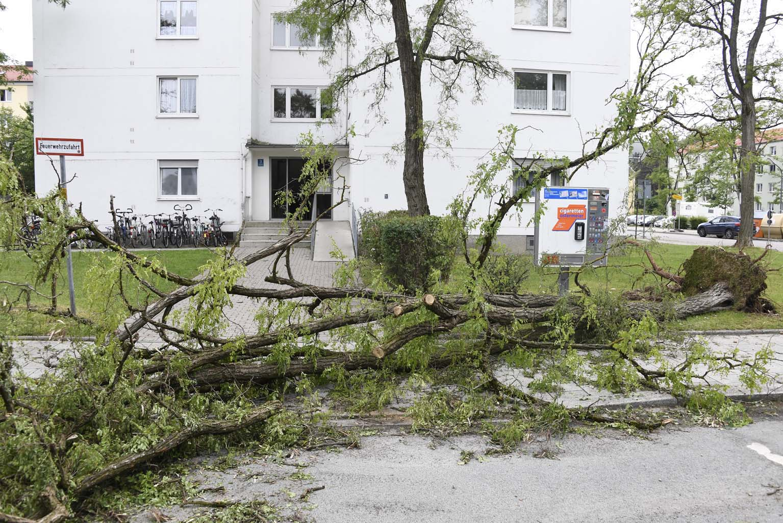 Unwetter München