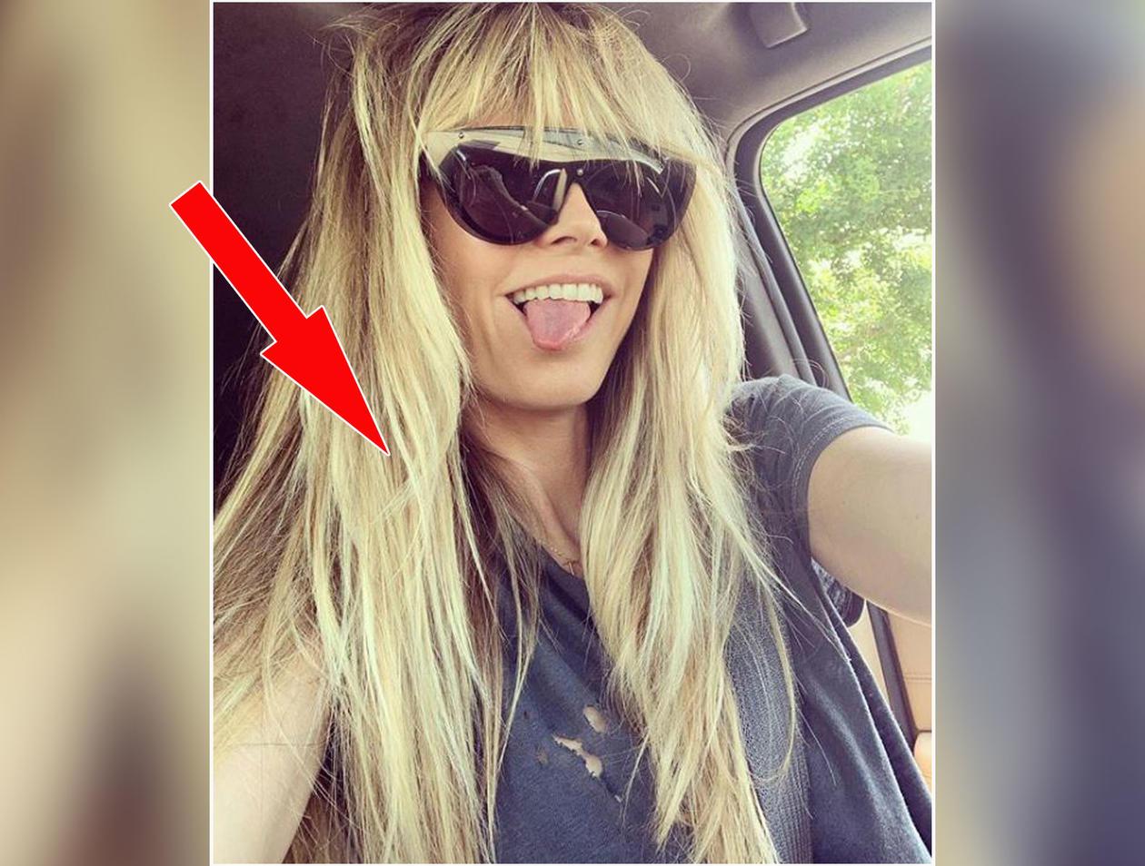 Heidi Klum Postet Neuen Look Fans Wundern Sich Uber Detail Auf