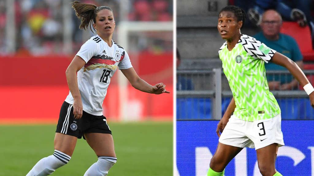 Deutschland Nigeria Frauen Wm 2019 So Endete Das Spiel