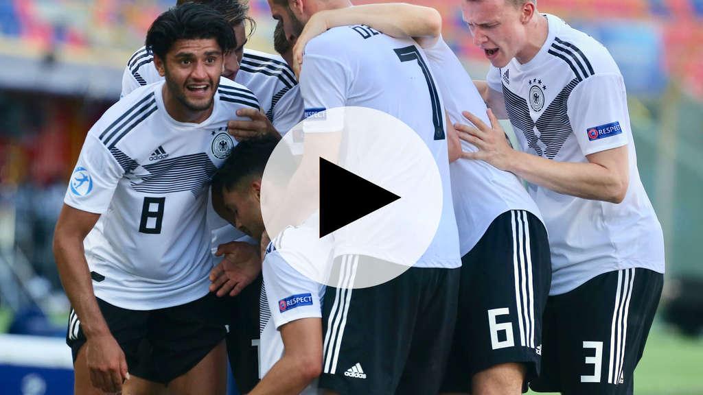 U21 Em 2019 So Endete Das Finale Deutschland Spanien