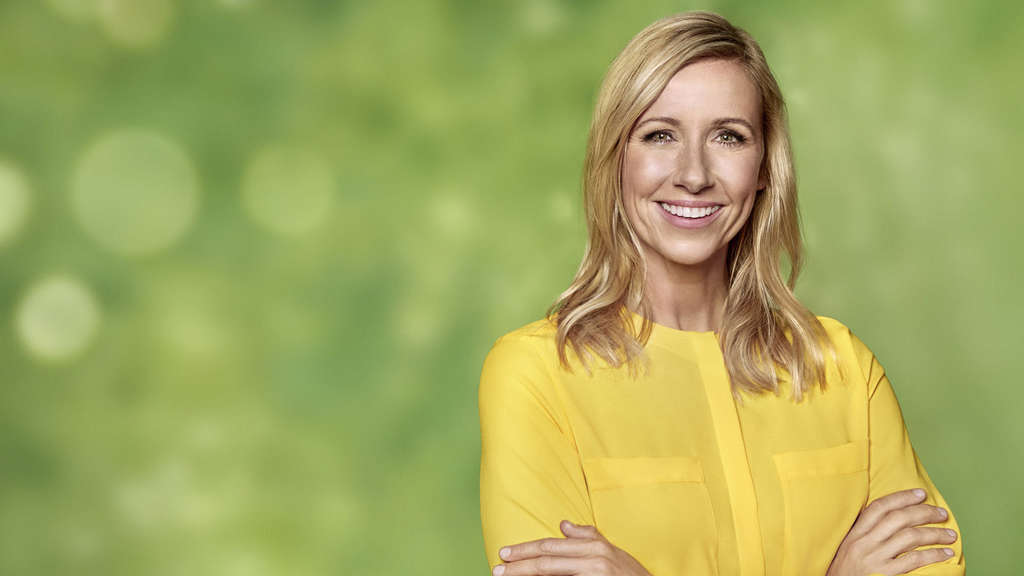 Andrea Kiewel Vom Zdf Fernsehgarten So Hiess Kiwi Einst Tv